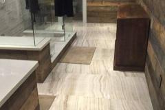 Floor Tiling Bathroom