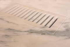 marble tile vent cover
